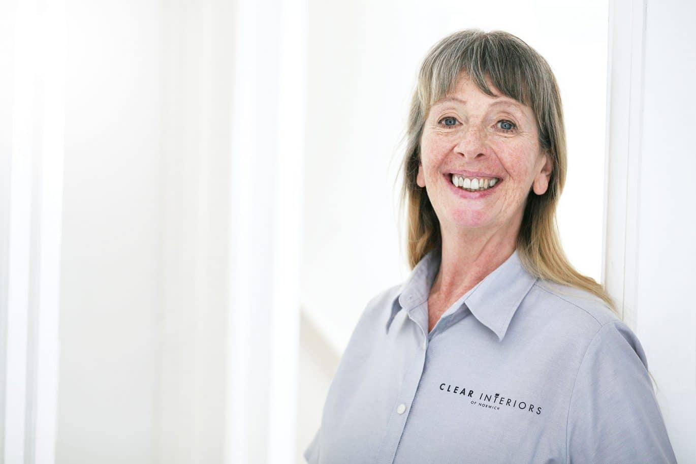 Portrait of Clear Interiors of Norwich Owner Jane