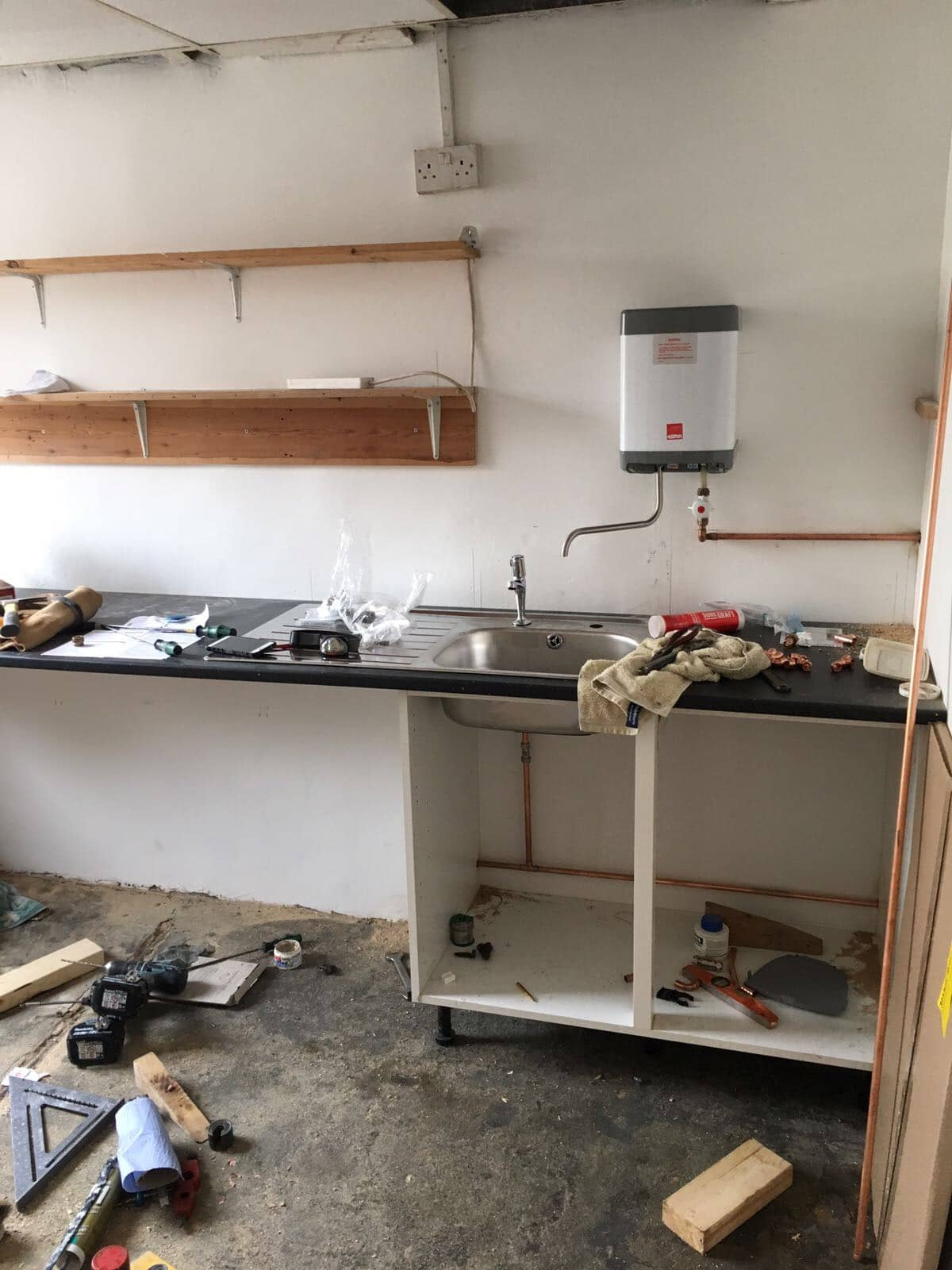 Internal of Clear Interiors of Norwich Premises being Renovated